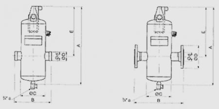 Сепаратор FLAMCOVENT CLEAN. Ду 50-150
